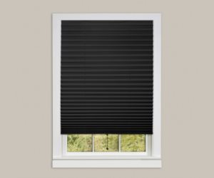 Achim Home Furnishings 1-2-3 Vinyl Room Darkening Temporary Pleated Window Shade Review
