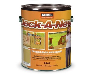 Anvil Deck-A-New Resurfacer Paint Review