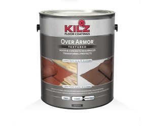 KILZ Over Armor Deck Paint Review