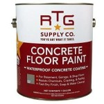 RTG Waterproof Concrete Floor Paint Review