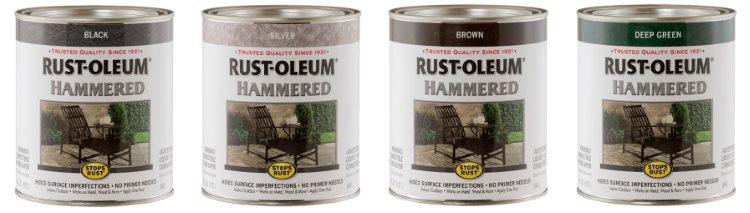 Rust Oleum Hummered Concrete Paint - Best Paint for Concrete Floors