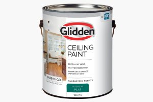 Glidden Latex Ceiling Paint Review