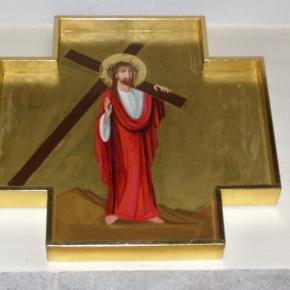Stacje drogi krzyżowej wnaszym kościele