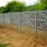 Ogrodzenie wokół cmentarza