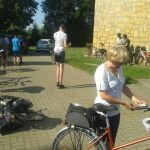 Pielgrzymka rowerowa wgościnie