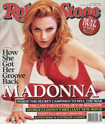 Madonna Rolling Stones