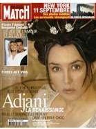 Paris Match Adjani