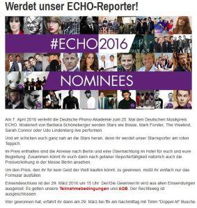 (Quelle: ffn.de/on-air/aktionen/echo/), Verena Bender, Dozentin, PR, Kommunikation, Coaching, Köln, Blog, Public Relations