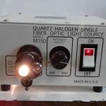 Quartz Halogen Single Fiber Optic Light Source M150 – Used