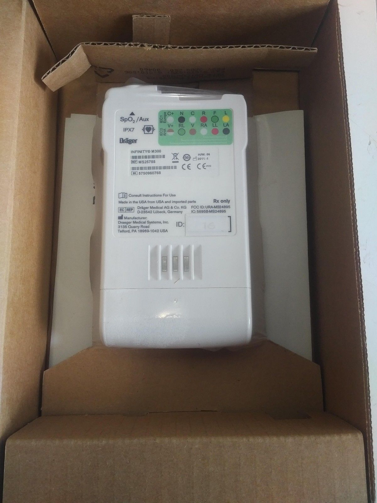 Drager Infinity M300 Patient Monitor - New – Open box | Physician's  Resource Network