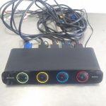 Belkin F1DS104L SOHO 4 Port KVM Switch – Used