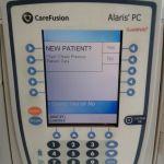 Carefusion Alaris PC 8015 Control Unit with 2 8100 Alaris IV Pumps – Used