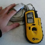 TuffSat GE Datex Ohmeda Pulse Oximeter with Finger Probe – Used