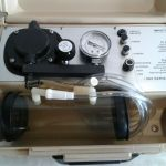 Impact Instrumentation 305 Series Portable Aspirator Emergency Suction Pump – For parts or not working