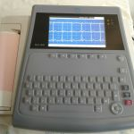 GE MAC 1600 ECG Machine with Leads – Used
