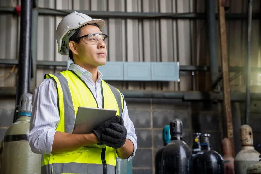 保安業務を行う高圧ガス製造保安責任者