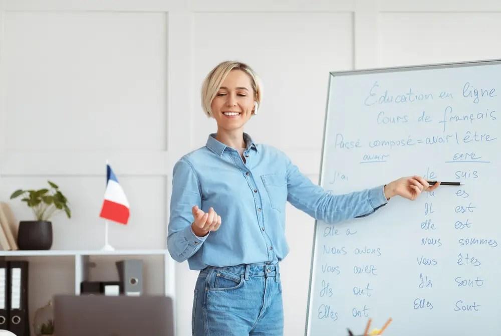 フランス語の学習
