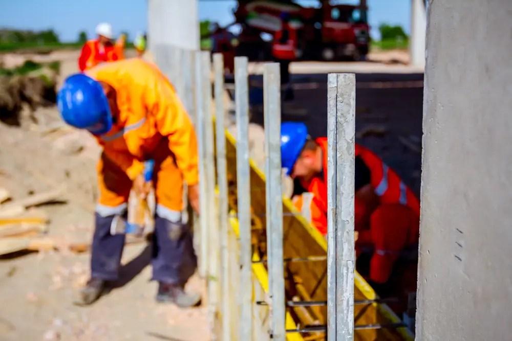 作業を行う型枠支保工の組立て等作業主任者