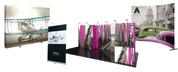 Las Vegas Trade Show and Banner Stands