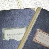 Firmenchronik - Gehalts-Kontobuch alt