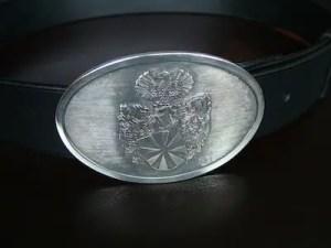 Pro-Heraldica-Guertel-mit-Wappen-Silber