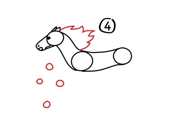 05. Как нарисовать лошадь