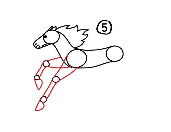 06. Как нарисовать лошадь