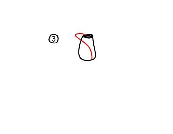 07. Как рисовать розу – самый простой способ
