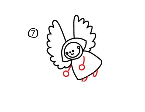 03. Как нарисовать ангела вместе с детьми