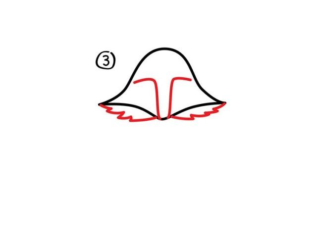 04. Как нарисовать лису в мультяшном стиле