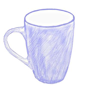 Придаем чашке объем при помощи тонирования