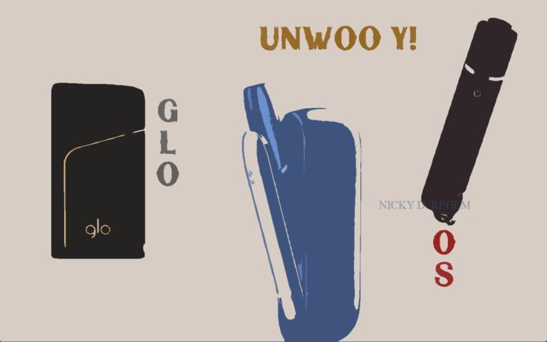 Сравнение GLO c IQOS, Ploom и Unwoo Y1