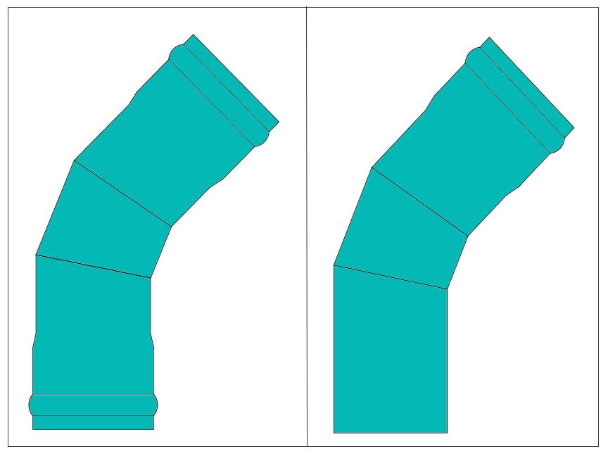 LR 45 Bends