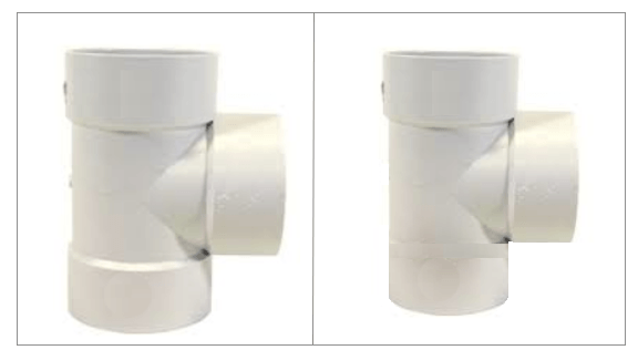 Solvent Weld Tees