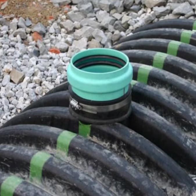 Gravity-flow Sewer & Drainage Application