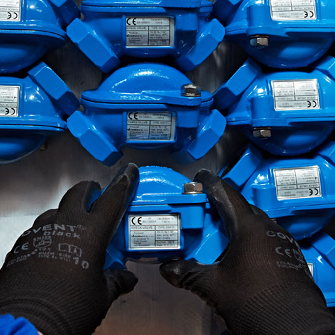90° Ball Check Valves