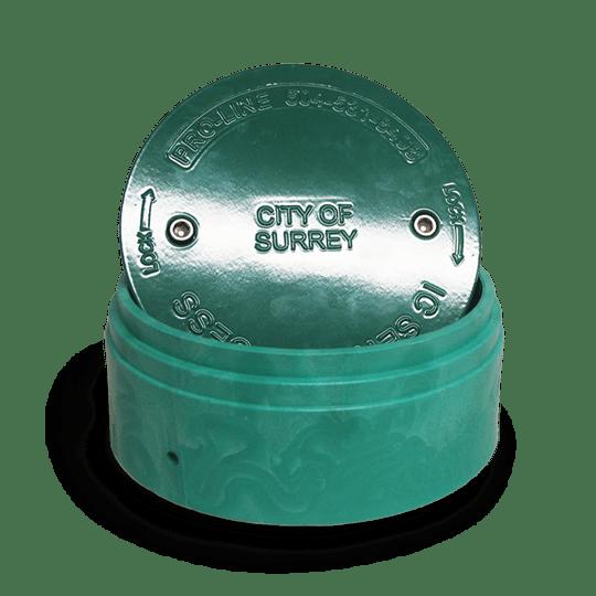 IC lid aluminum
