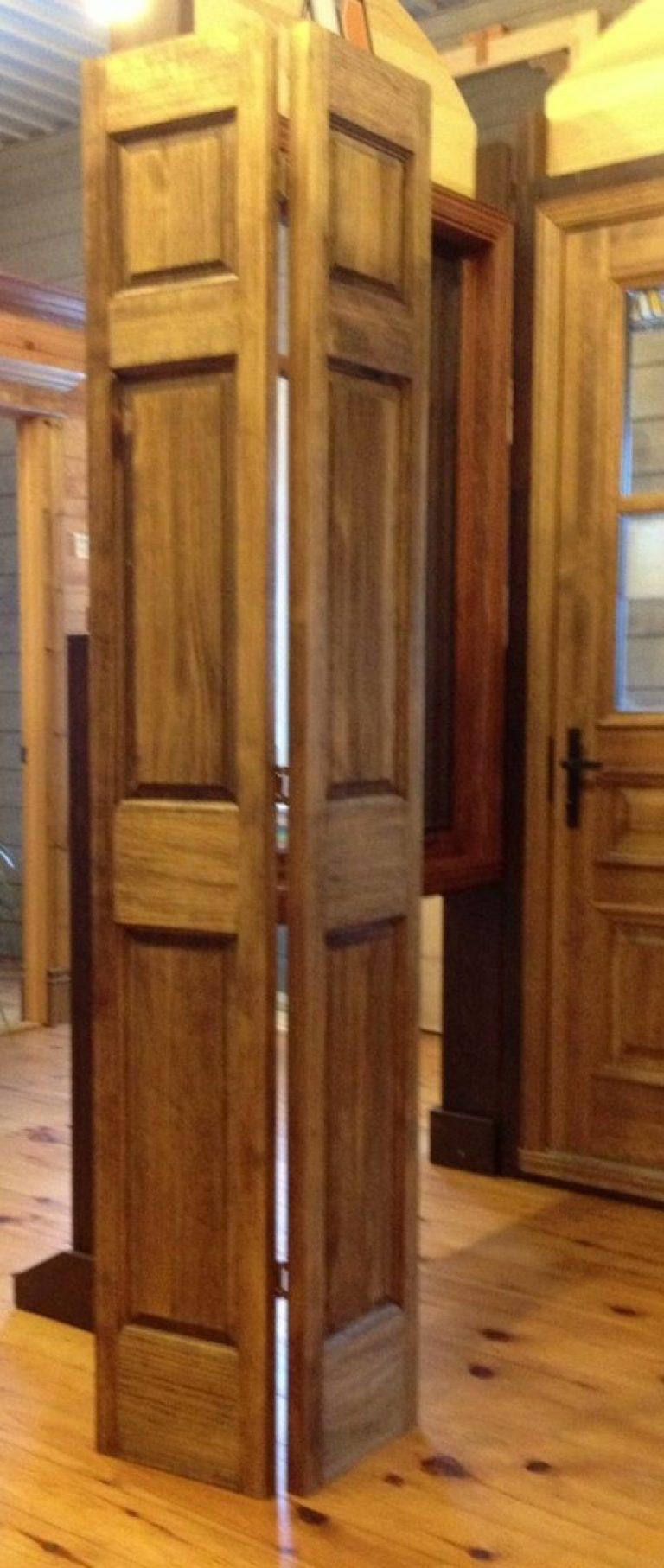 Porte Pliante A 6 Panneaux Pro Pin Le Specialiste Du Bois De Pin