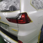 レクサス・LX570 お客様へのご報告となります。 札幌「お車のガラスコーティング」