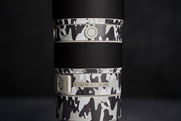 Sony FE 70-200mm F/2.8 GM OSS Lens - Protective Lens Guard Wrap Camouflage Skin