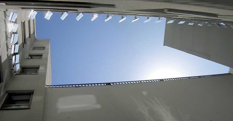 reflectores solares para iluminacion de