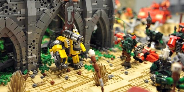 Выставка Лего Фантастические бои
