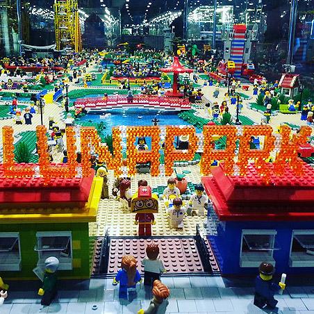 Выставка Лего Лунапарк