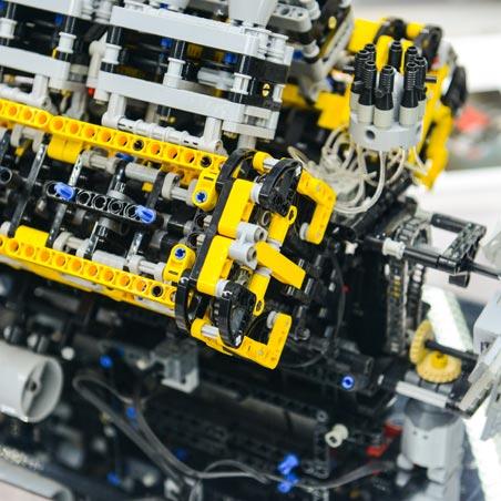 Выставка Лего Мир Техно