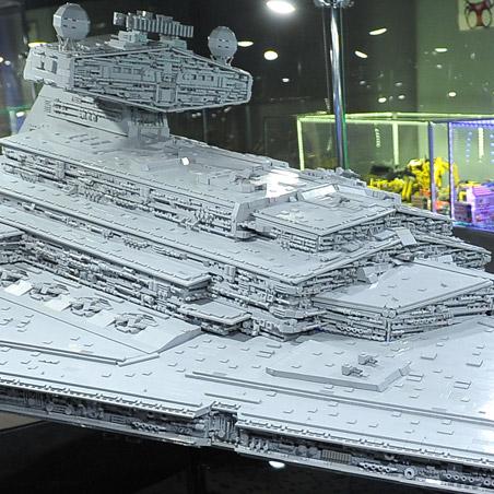 Выставка Лего Звездные войны