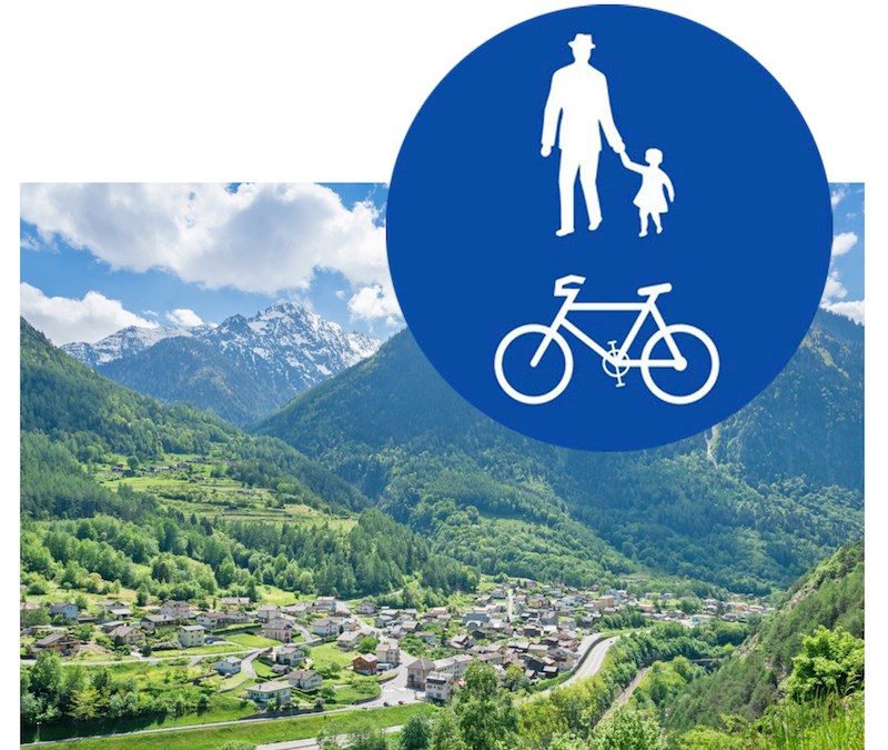 Interdiction des vélos sur les sentiers de Bovernier