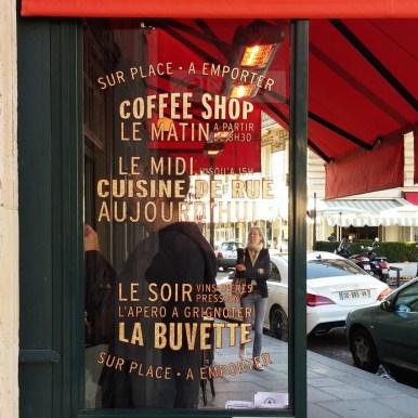 Signalétique Brasserie parisienne