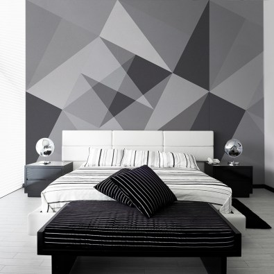 Papiers peints Abstract Grey