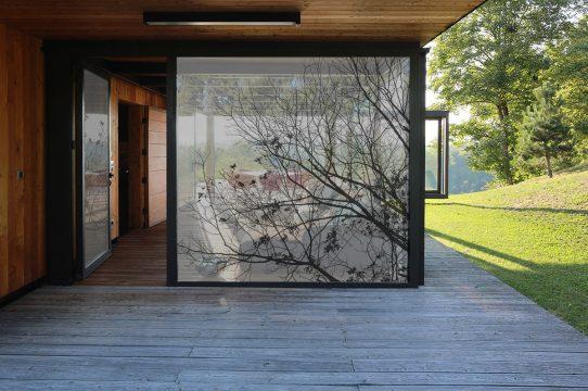 Films/tissus pour vitres Nature 01