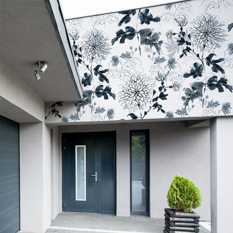 Papiers peints d'extérieur Blue flowers